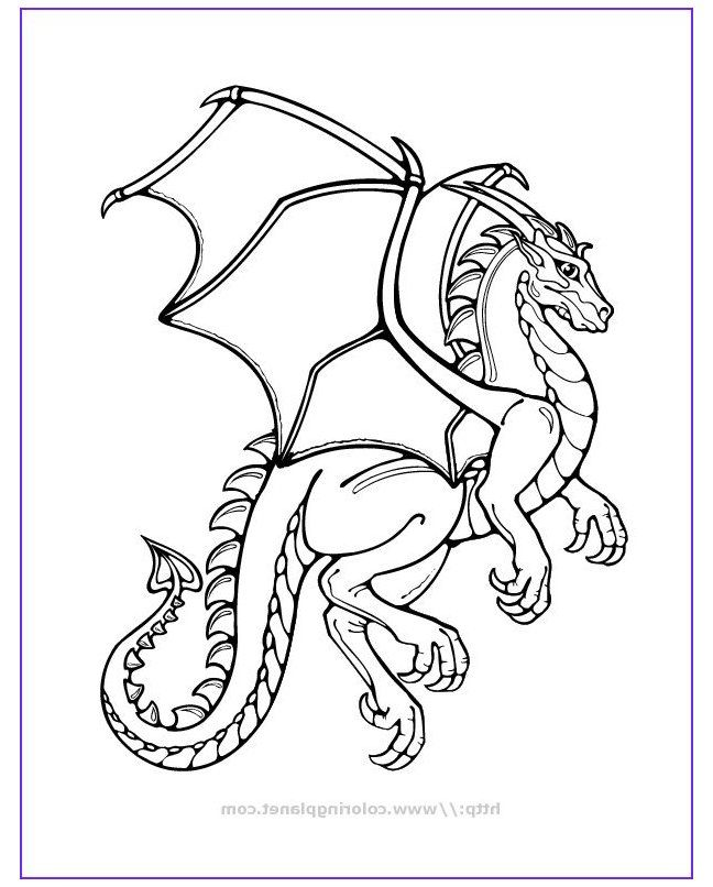 e4b9d0d26c29ec64433b9e6b1cfa4bca » Easy Dragon Coloring Pages