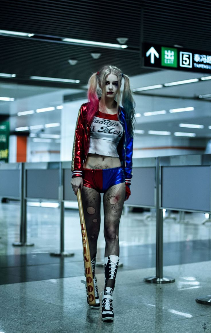 Spectacular Harley Quinn cosplay by Katie Kosova shot by Tim Rise