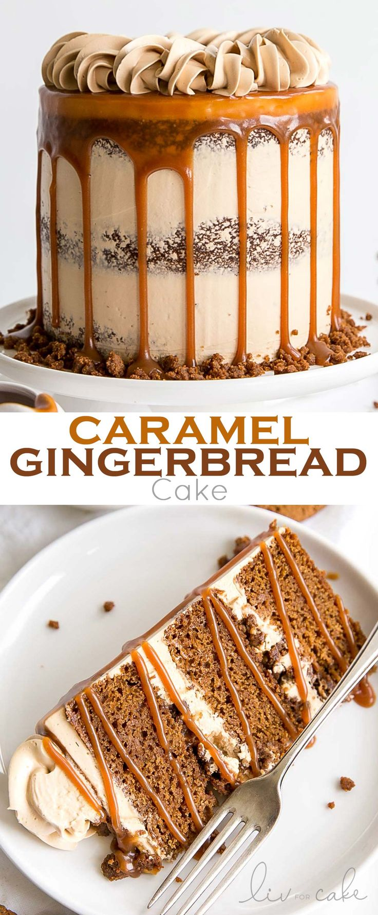 The classic Gingerbread Cake gets a delicious make…