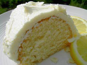 Vegan Thyme: Vegan Lemon Bundt Cake with Fluffy Lemonade Buttercream Frosting (Learning to See . . . Again)