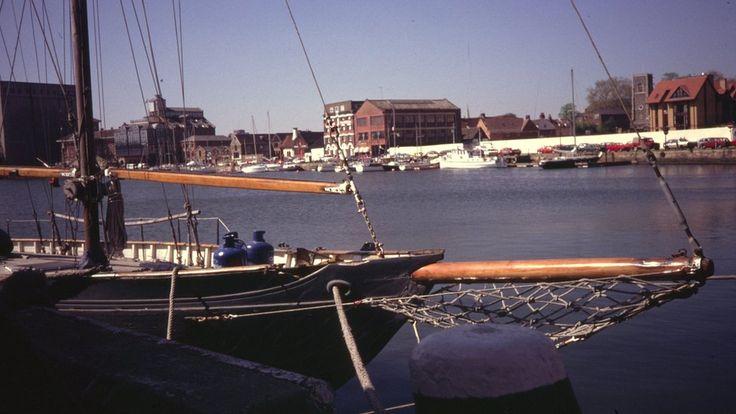 Ipswich wet dock, 1990s