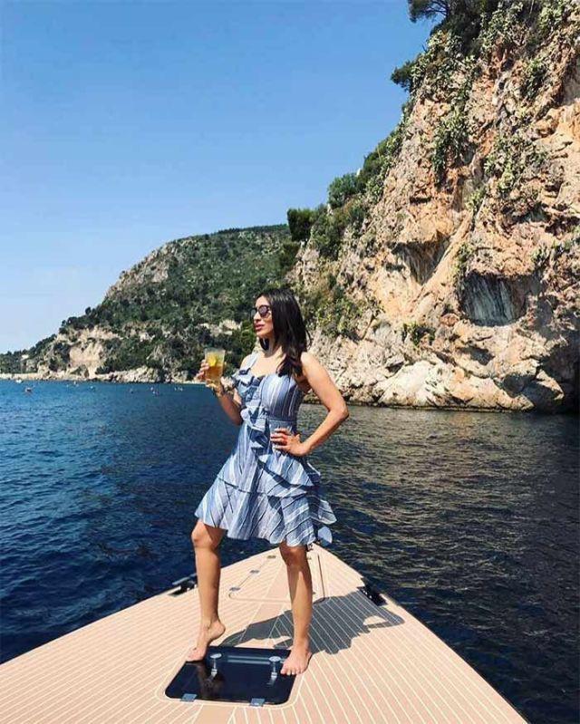 Sophie Choudry Monaco Vacation