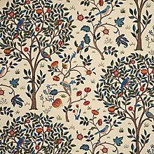 Buy Morris & Co Kelmscott Tree Curtain, Woad Online at johnlewis.com