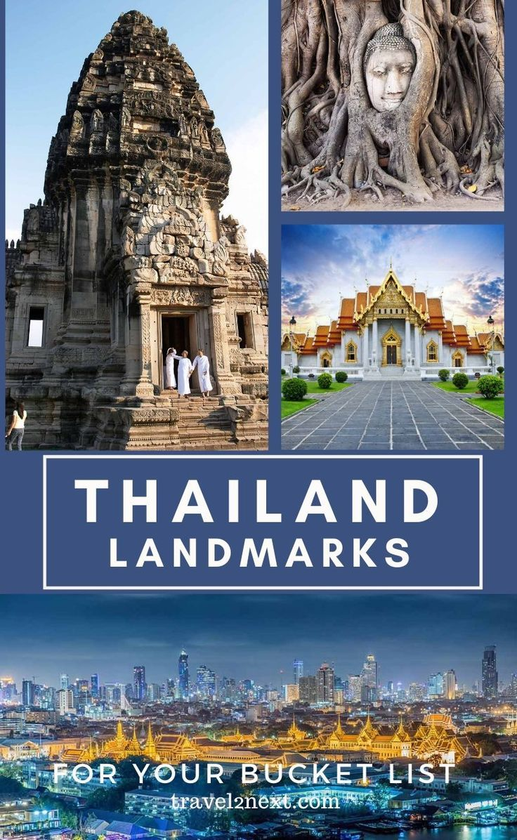 20 Thailand landmarks for your bucket list. The la…