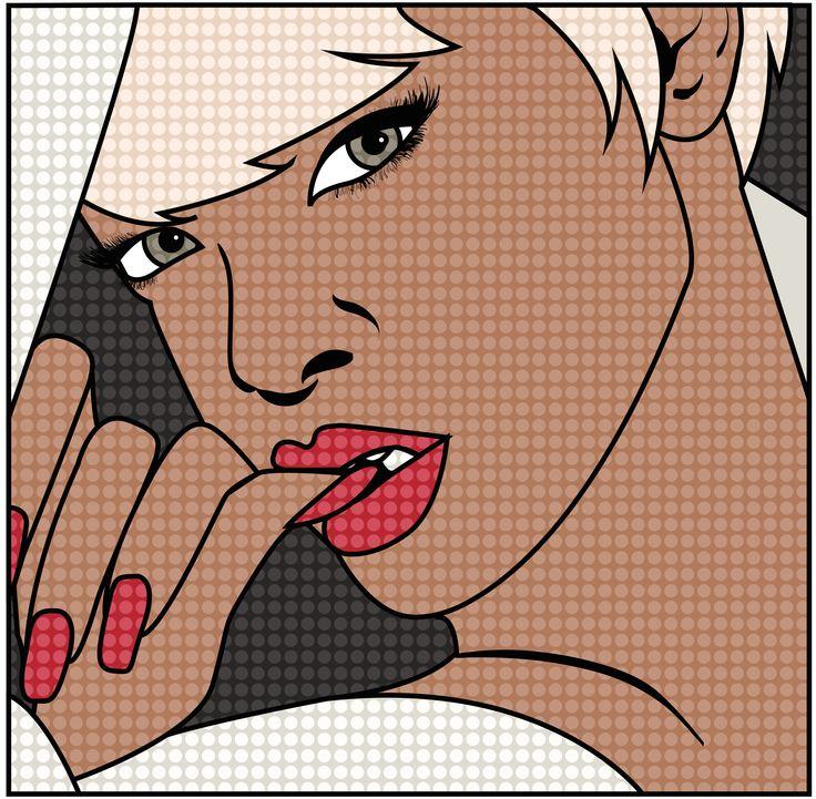#fashion #graphics #illustration #art #illustrator #girl #popart #pop #art #design #mac #vivaglam #rihanna