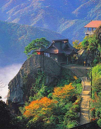 Yamadera Temple, Yamagata Prefecture