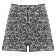 @Maison_Olga - Woven cotton blend shorts  @Harvey Nichols
