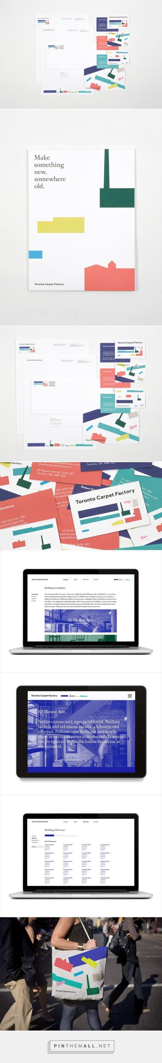 Toronto Carpet Factory  Branding by Bruce Mau Design | Fivestar Branding – Design and Branding Agency & Inspiration Gallery