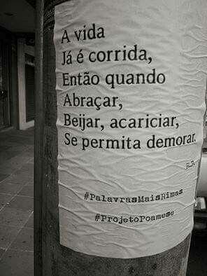 #Palavrasmaisrimas #projetopoamese