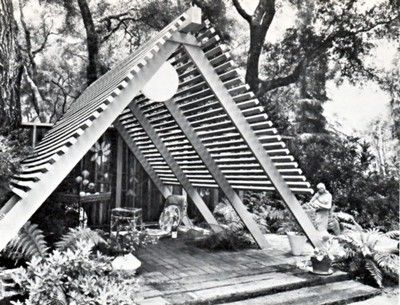 Build Mid Century Modern Outdoor Furniture Patio Roof