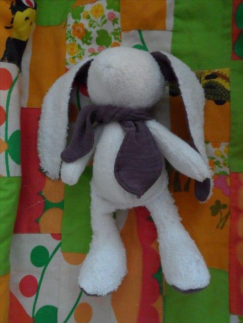 Sew cute bunny. DIY