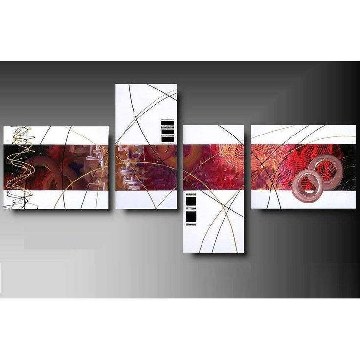 Las 25 mejores ideas sobre cuadros minimalistas en for Diseno de paredes con cuadros