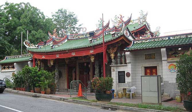 It was constructed between 1876 and 1878 as the ancestral temple for those with the same Tan surname, based on the premise that Chinese people with the same surname would share a common ancestry and therefore belong to the same clan. #Singapore, #culture, #landmark, #history, #travel, #destination