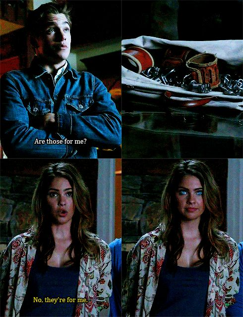"S4 Ep4 ""The Benefactor"" - Malia and Liam"