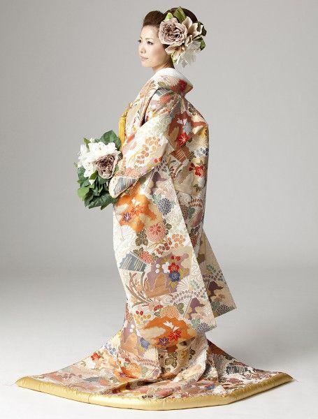 [色打掛] 4514 | YUMI KATSURA OFFICIAL WEBSITE|ユミカツラ公式サイト|ブライダル ウエディングドレス