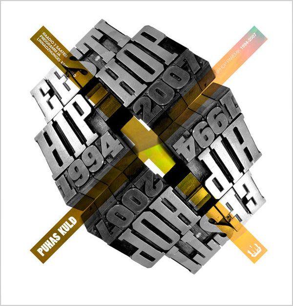 Creative 3D Typography (18)