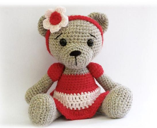 Amigurumi Free Patterns Bear : 444 best medvídci teddy bears images on pinterest crochet bear