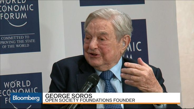 Billionaire investor George Soros discusses the state of the European Union, China's economic slowdown, Fed monetary policy and the 2016 U.S. presidential election with Bloomberg's Francine Lacqua at the World Economic Forum in Davos. (Source: Bloomberg)
