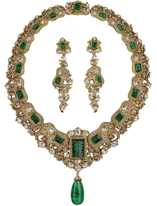 love this!! Emeralds for Elephants...u can see the lil elephants if u look hard...