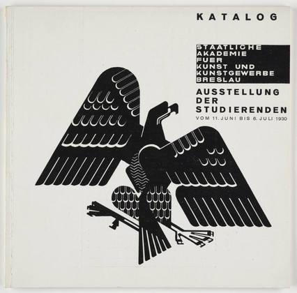 Johannes Molzahn. Ausstellung der Studierenden. 1930