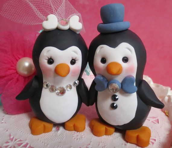 penguin wedding cake topper uk 25 best ideas about penguin cake toppers on 18189