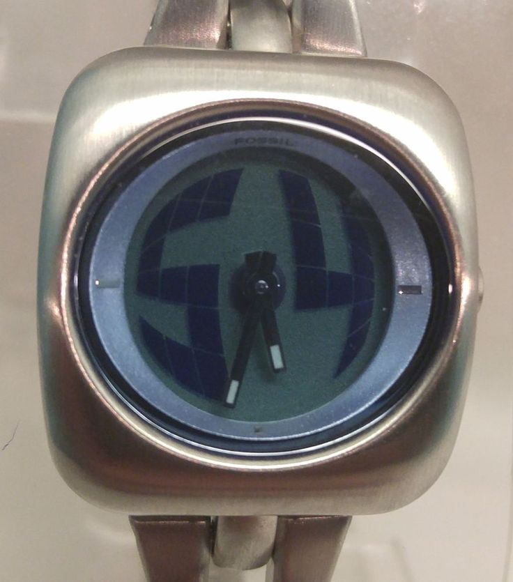 Fossil Big Tic Animated Womens Watch BG-1032 Stainless Steel Quartz Water Resist #Fossil $36.00 www.iiwiiMerchandise.com