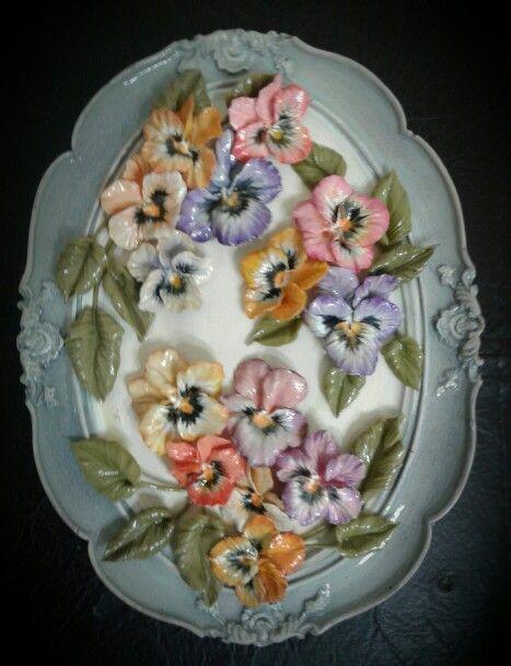 Art by nilgün / cold porcelain                             25×15 cm