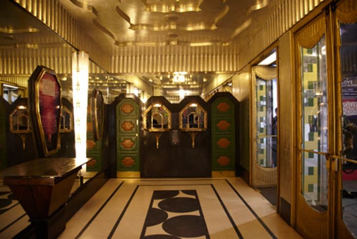 Western Foyer Box Office : Best images about art deco london on pinterest