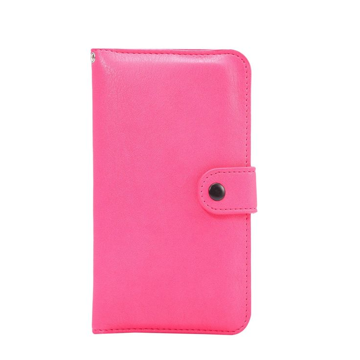 """Big Dragonfly(TM) Clutch Faux Leather Mini Folio Purse Pouch with 2 Cellphone Compartments for iPhone Samsung Cellphones with Big Dragonfly Logo Handstrap,Rose red,Screen Size under 5.3"""". Measurement - 3.5""""(L)*6""""(H)*0.9(W) This pouch is compatible for the cellphone whose screen size is under 5.3 inches. Material - Made of faux leather,touches comfortable and soft.The overall front and back protection ensure your personal stuff well protected. Muti compatible type - Compatible wtih iphone…"""