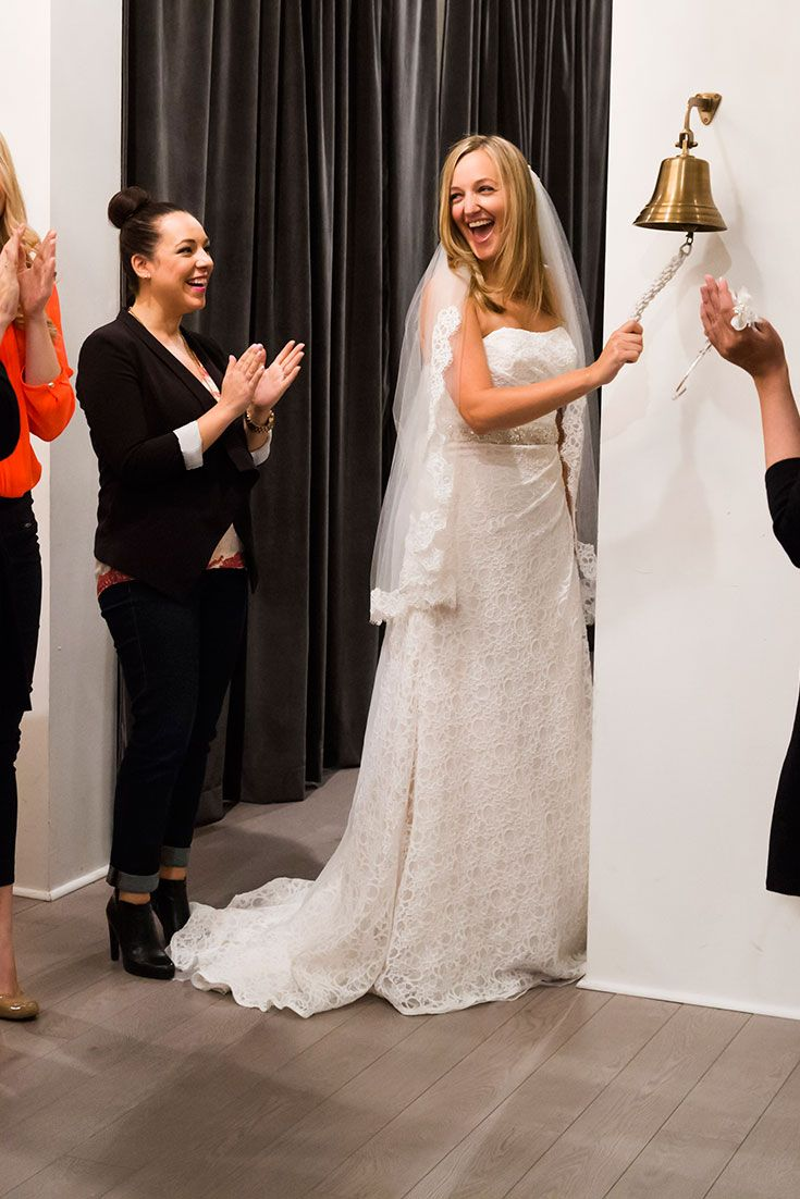 21 best say yes to the dress canada season 1 images on pinterest melissa in her chosen lace dress ombrellifo Images