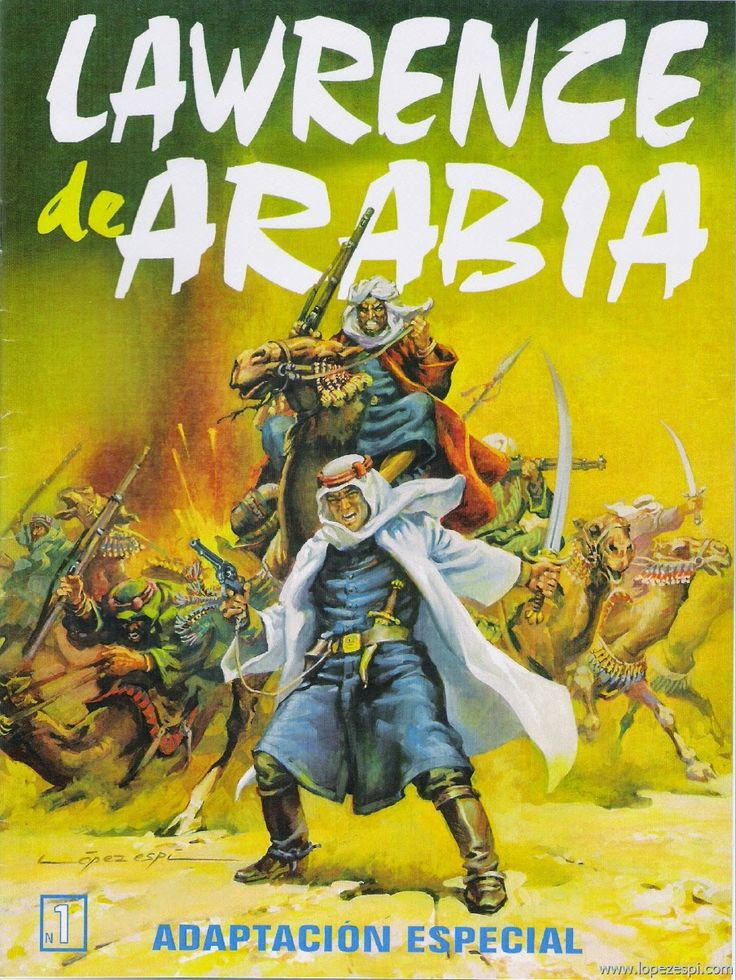 López Espí: Escaparate: Originales - Lawrence de Arabia