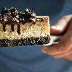 Csokis-Oreo kekszes sajttorta pite