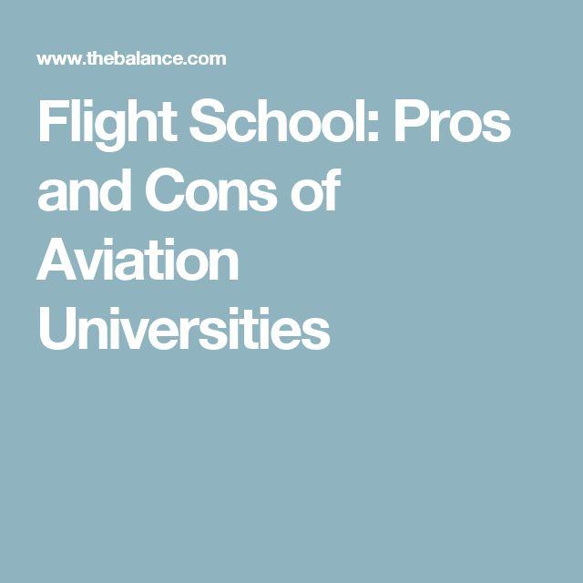 Flight School: Pros and Cons of Aviation Universities