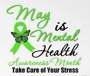 """It's May so that means it's Mental Health Awareness month. You know calling someone """"psycho"""" who's suffered from depression or anxiety doesn't make you that much different from a racist who calls people the """"N' word."""