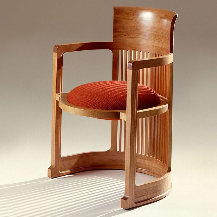 Barrel Chair Inspired Furniture, Frank Lloyd Wright Original Furniture