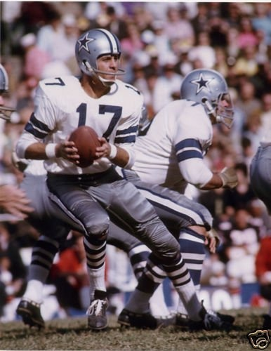 Don Meredith, Dallas Cowboys - I can hear him sing now , Turn Out The Lights The Party Is Over ...lol