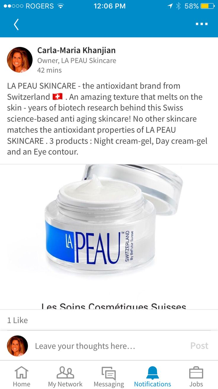 LA PEAU SKINCARE - the antioxidant brand from Switzerland 🇨🇭 . An amazing texture that melts on the skin - years of biotech research behind this Swiss science-based anti aging skincare! No other skincare matches the antioxidant properties of LA PEAU SKINCARE . 3 products : Night cream-gel, Day cream-gel and an Eye contour.