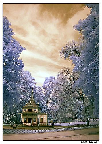 La casa encantada del bosque  Parque del Retiro #Madrid