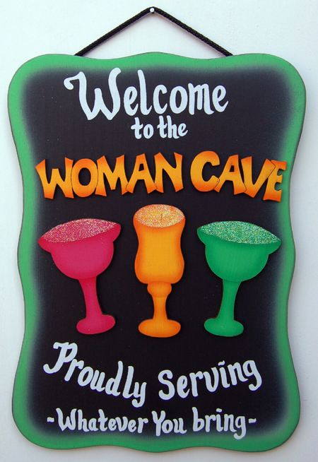 Margarita - Women Cave  I would take off WOMANS CAVE  just say DECK!!