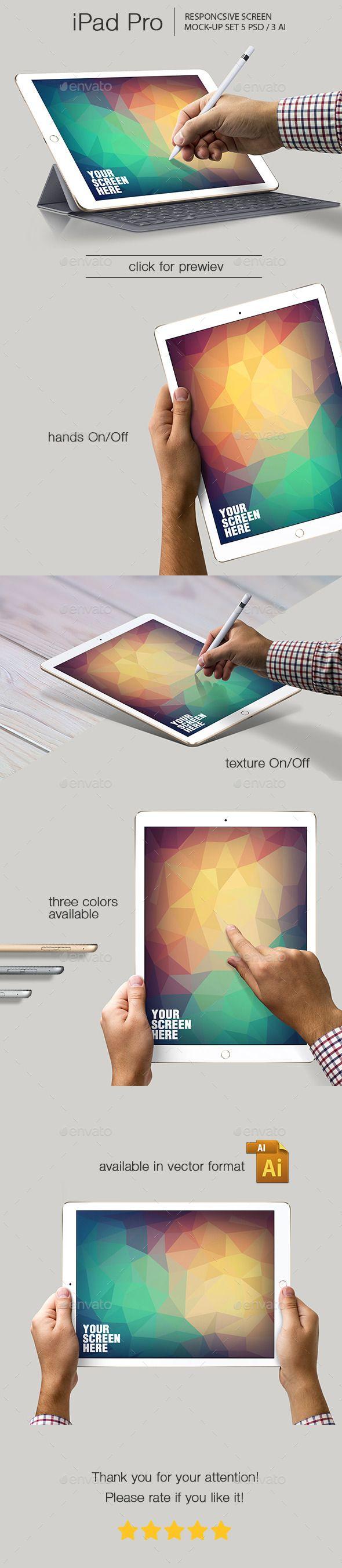 iPad Pro Responsive Mockup