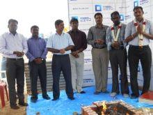 In attendance were Mr Surya Reddy Pulagam, Founder/Managing Director, PBEL; Mr Roossoe, GM-Projects, PBEL; Mr Ravi Kumar, Head Operations, SPCL and Mr RK Roychowdhury, DGM Projects, SPCL.