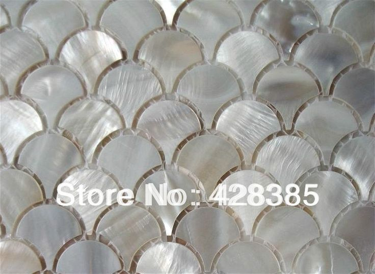 mother of pearl tiles in the bathroom - Google Search