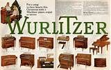Surprise them with a Wurlitzer piano, organ or stereo (1968)