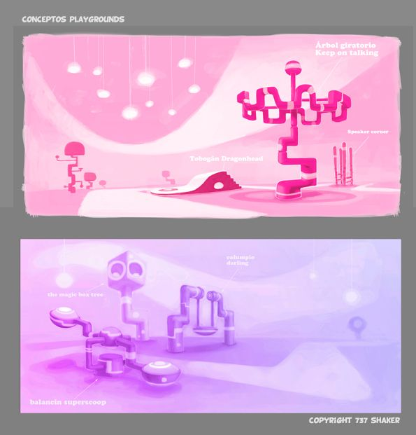 JELLY JAMM: Animation, concept artist, 2D Design by Pedro Bascon, via Behance