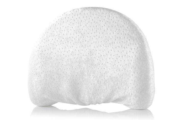 Head Shaping Baby Memory Foam Pillow with Extra-Soft Organic Pillowcase | Anti-Flat Head Cushion for Newborn | Antibacterial & Hypoallergenic Cover | Unisex Flathead Pillows for Infant Boy or Girl