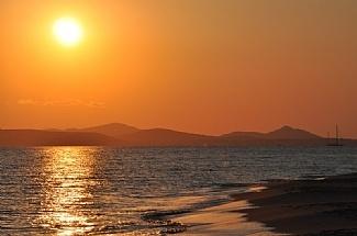 Sunset, Naxos Greece