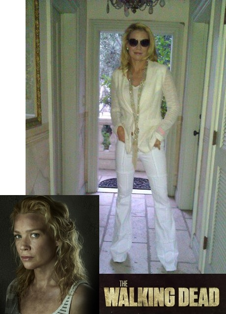 Actress and human rights activist Laurie Holden