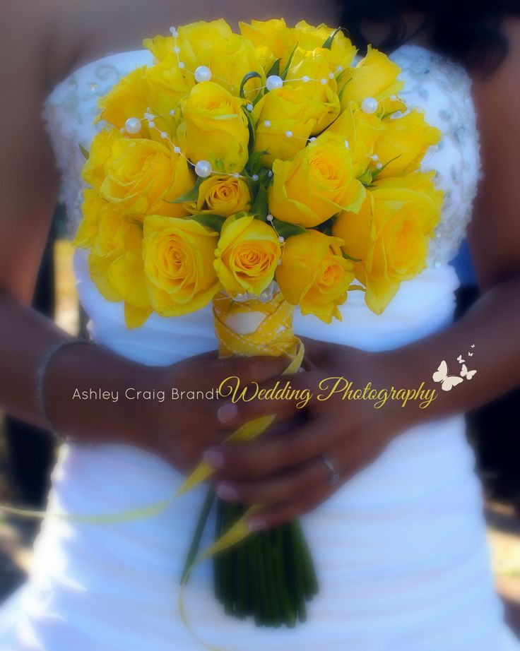 Beautiful Yellow Rose Bouquet