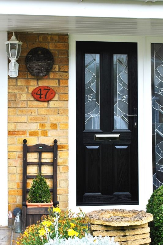 Contemporary and Chic, Altmore Composite Door with