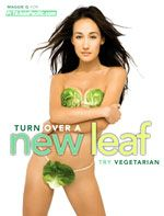 PETA Asia-Pacific | Features | Nearly Nude Maggie Q Says, 'Spice Up Your Life - Go Vegetarian'
